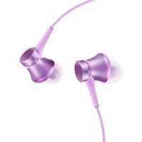 Вакуумные наушники (гарнитура) Xiaomi Mi In-Ear Headphones Basic Violet (фиолетовые) / Xiaomi Piston Basic